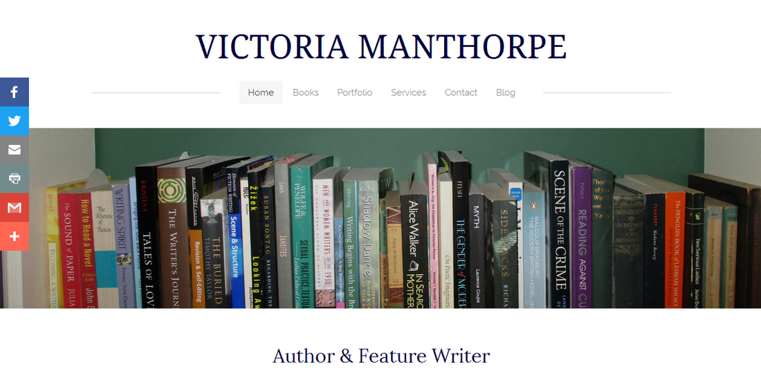 Victoria Manthorpe, author