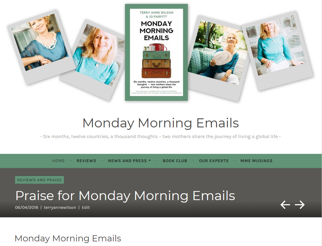 Monday Morning Emails website